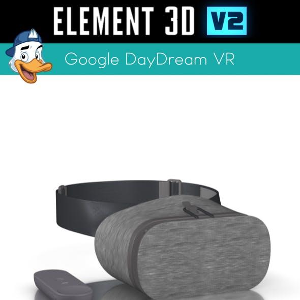 Google DayDream VR for Element 3D