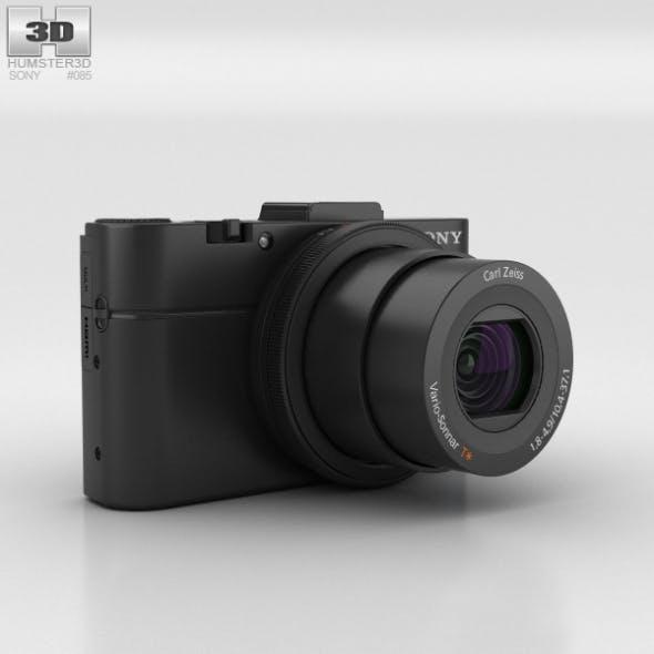 Sony Cyber-shot DSC-RX100 II - 3DOcean Item for Sale