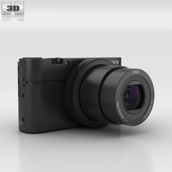 Sony Cyber-shot DSC-RX100 III - 3DOcean Item for Sale