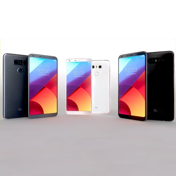 LG G6 Collection - 3DOcean Item for Sale