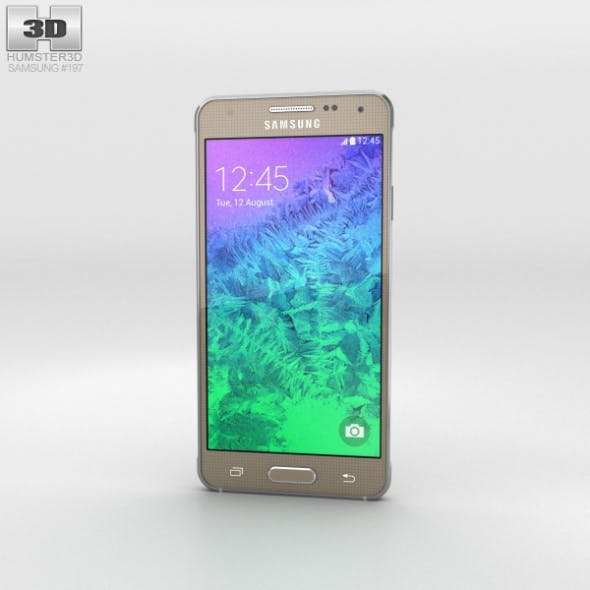 Samsung Galaxy Alpha Frosted Gold