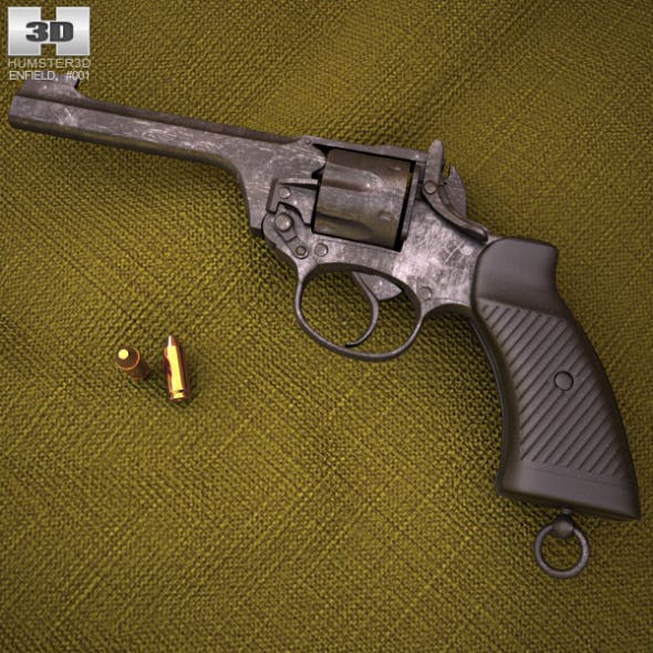 Enfield No. 2 - 3DOcean Item for Sale