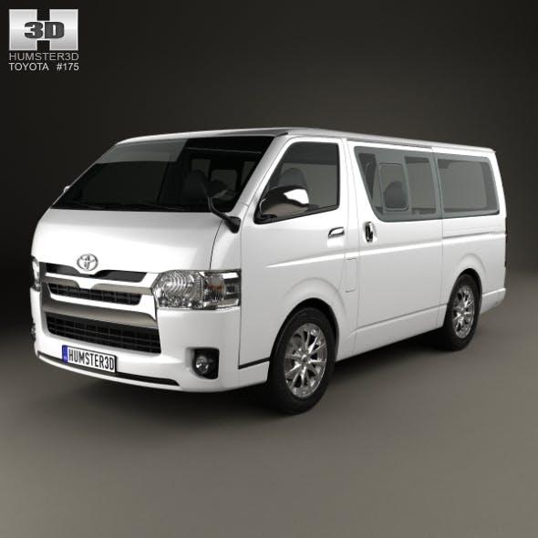 Toyota HiAce LWB Combi 2013