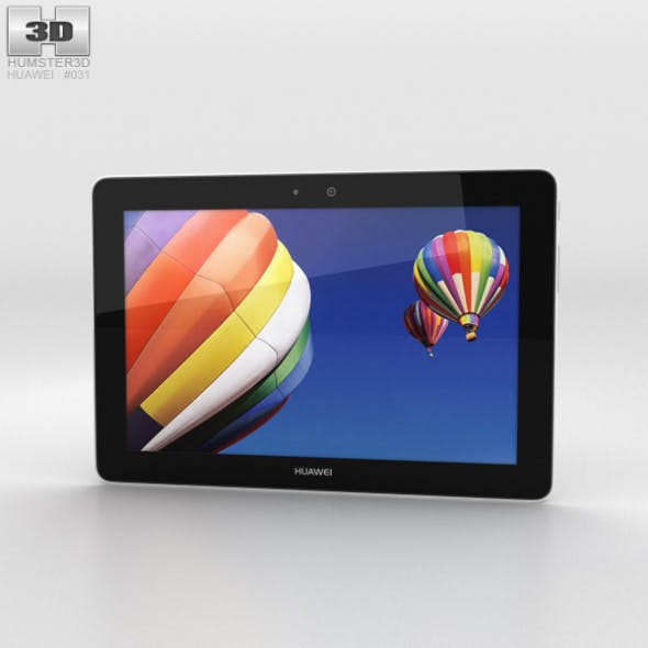 Huawei MediaPad 10 Link+ Champagne - 3DOcean Item for Sale