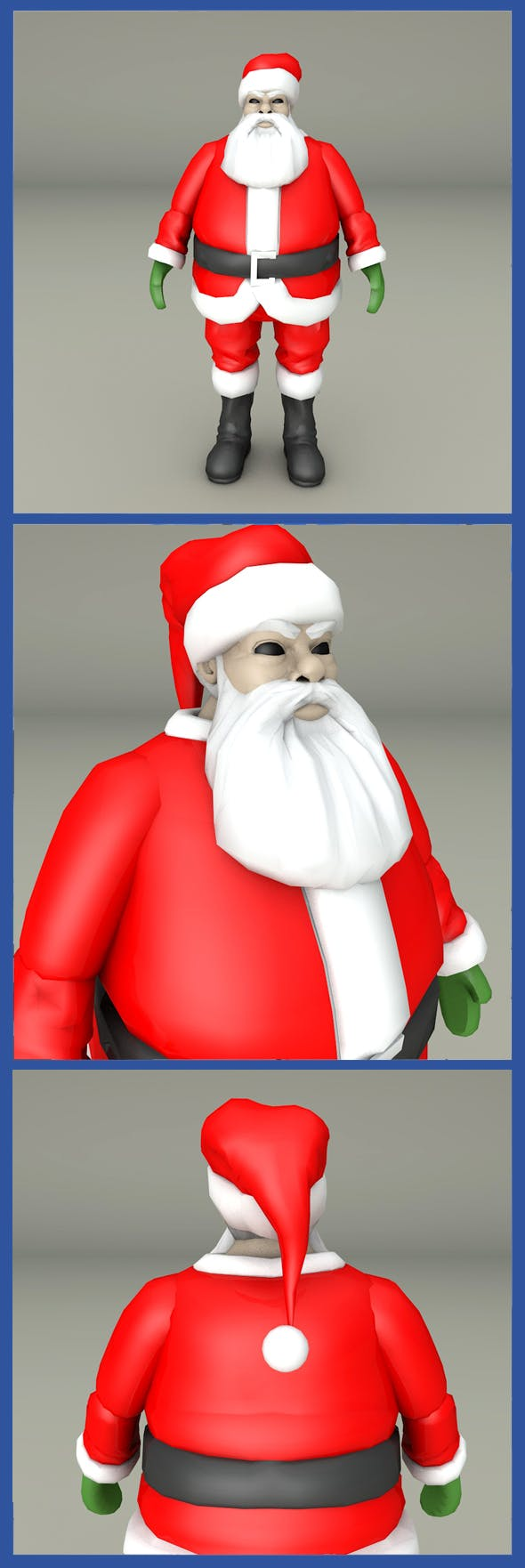 Santa Clause - 3DOcean Item for Sale