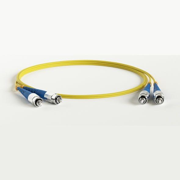 FC adhesive connectors Fiber