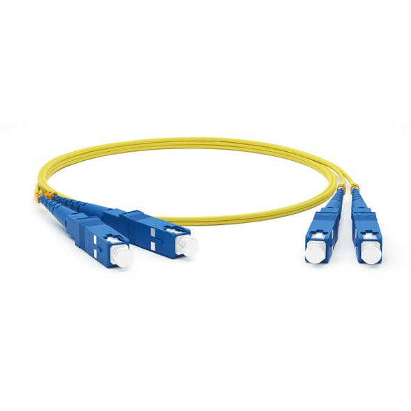 SC adhesive connectors Fiber