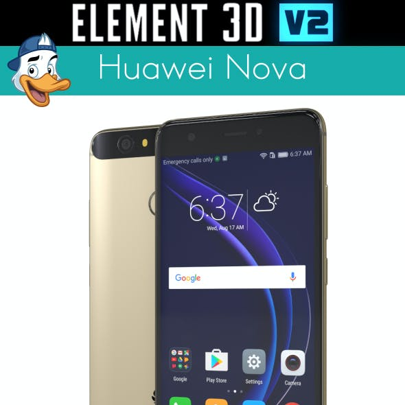 Huawei Nova for Element 3D