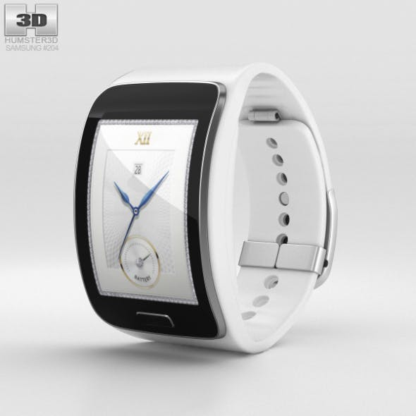 Samsung Gear S White - 3DOcean Item for Sale