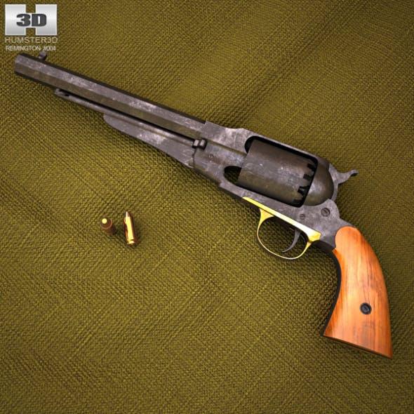 Remington Model 1858 - 3DOcean Item for Sale