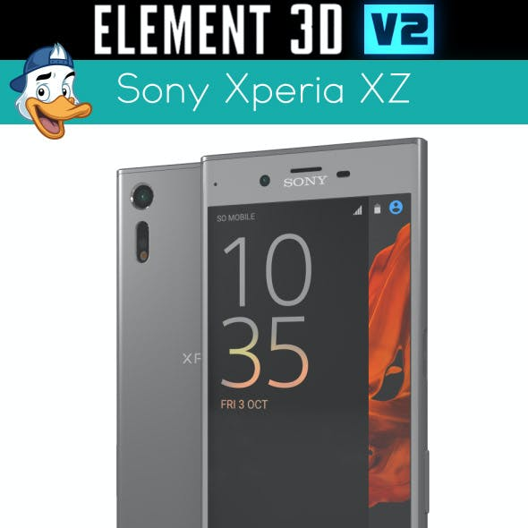 Sony Xperia XZ for Element 3D
