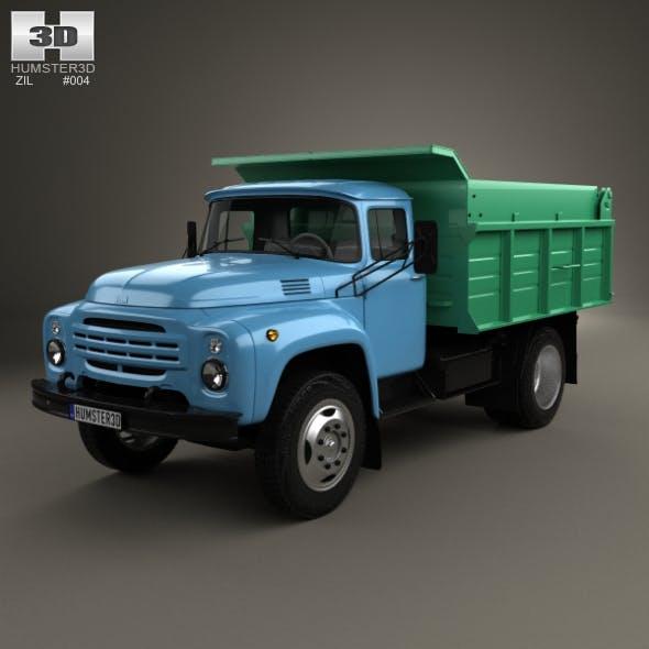 ZIL 130 Dump Truck 1964 - 3DOcean Item for Sale