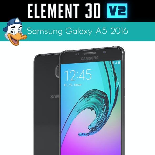 Samsung Galaxy A5 2016 for Element 3D