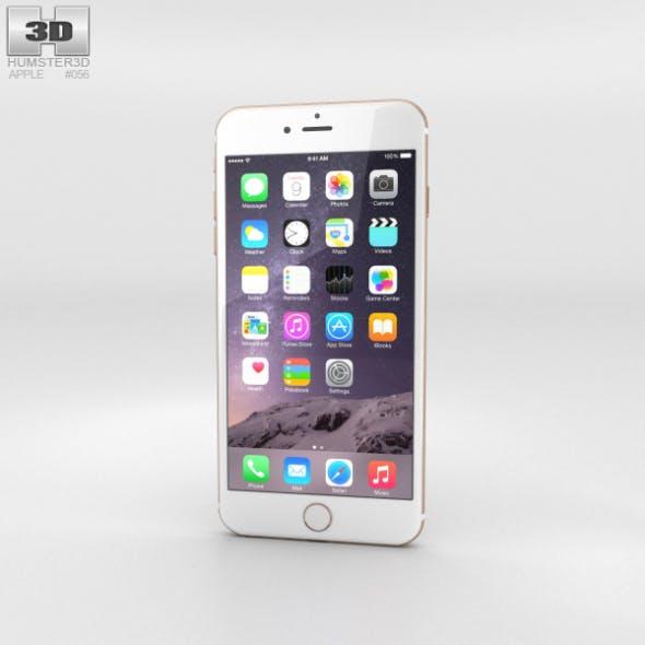 Apple iPhone 6 Plus Gold - 3DOcean Item for Sale