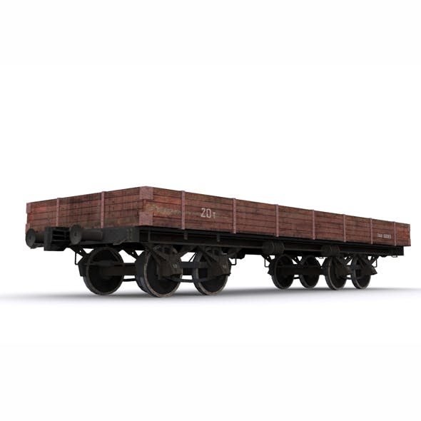 railway carriage - 3DOcean Item for Sale