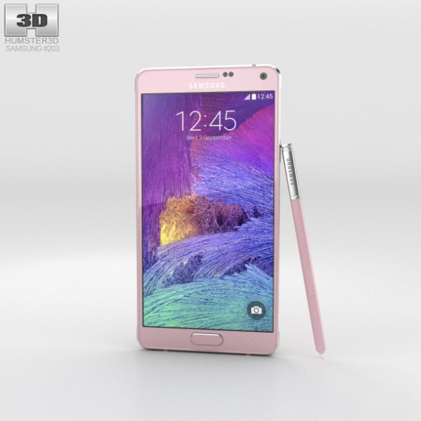 Samsung Galaxy Note 4 Blossom Pink