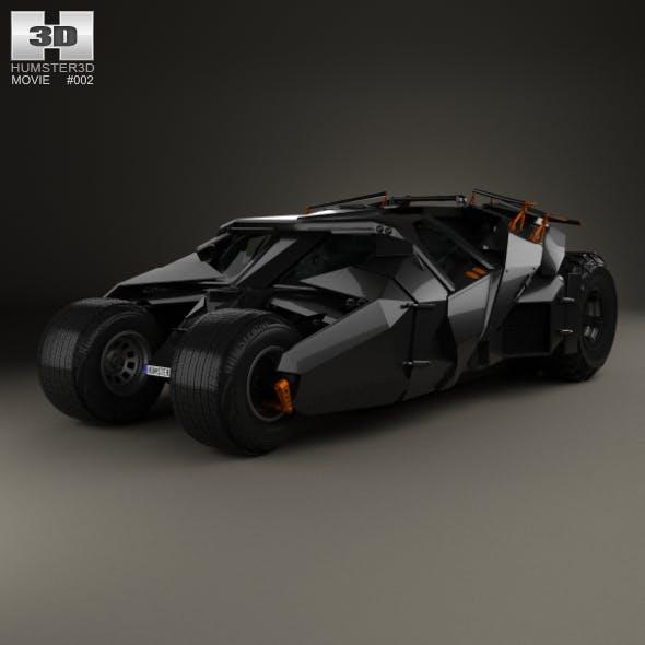 Batmobile Tumbler 2005 - 3DOcean Item for Sale