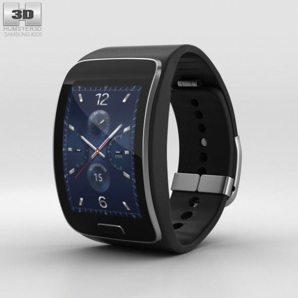 Samsung Gear S Black - 3DOcean Item for Sale