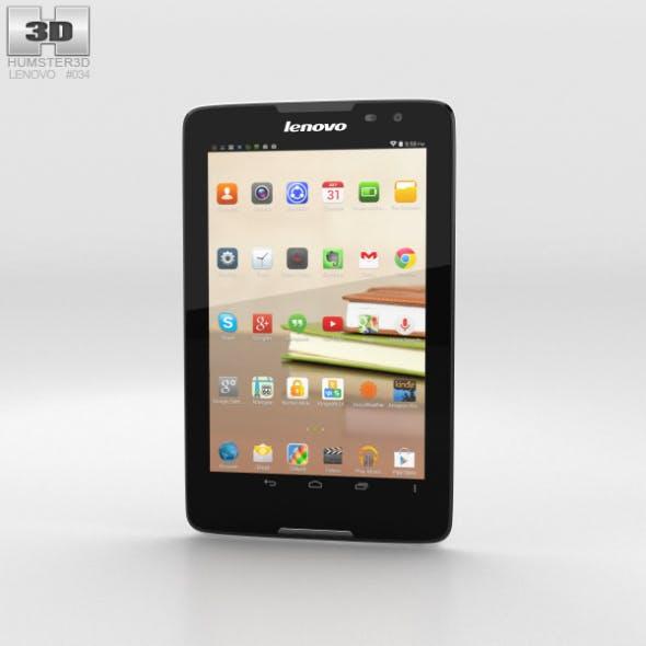 Lenovo Tab A8 White - 3DOcean Item for Sale