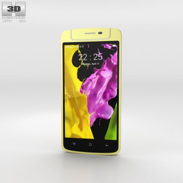 Oppo N1 mini Yellow