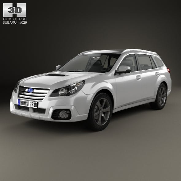 Subaru Outback SX 2012 - 3DOcean Item for Sale