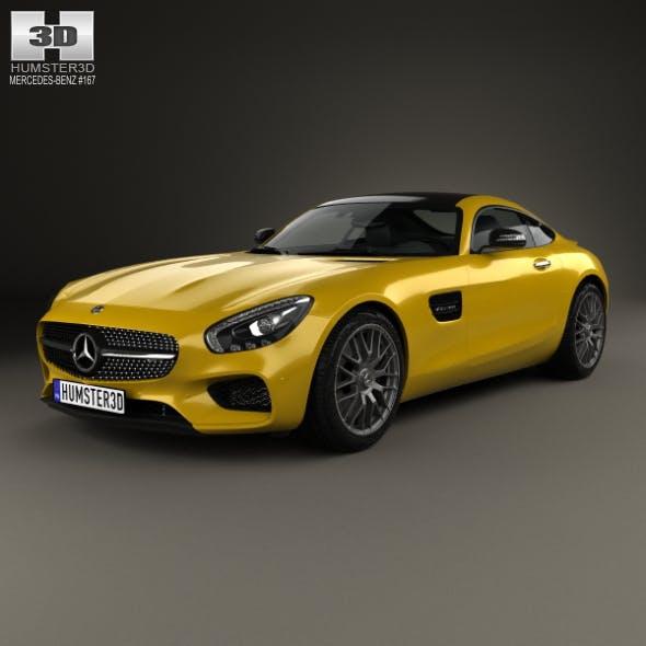 Mercedes-Benz AMG GT 2014 - 3DOcean Item for Sale
