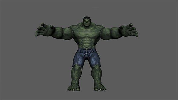 Hulk - 3DOcean Item for Sale