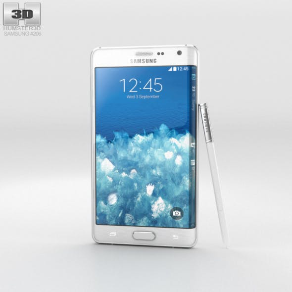 Samsung Galaxy Note Edge Frost White - 3DOcean Item for Sale