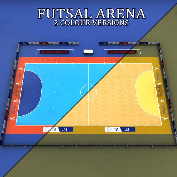 Futsal court arena soccer