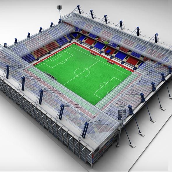 Soccer football stadium high detail
