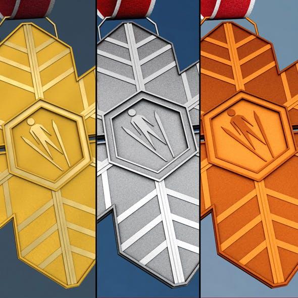 Sport winter medal pack