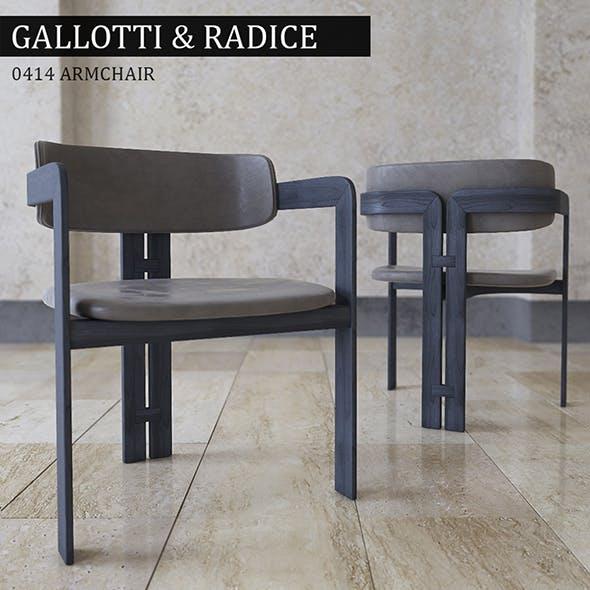 Chair Gallotti Radice - 3DOcean Item for Sale