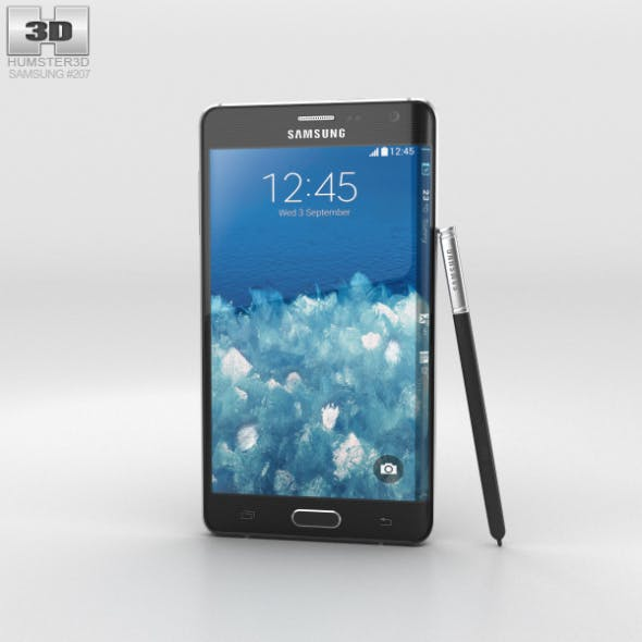 Samsung Galaxy Note Edge Charcoal Black
