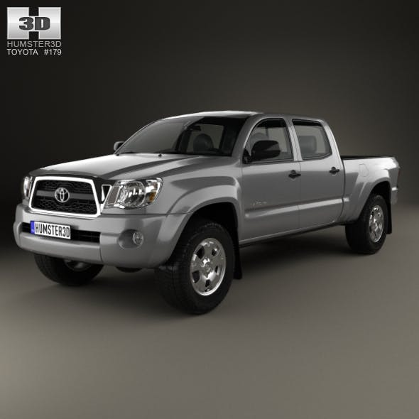 Toyota Tacoma Double Cab Long Bed 2011