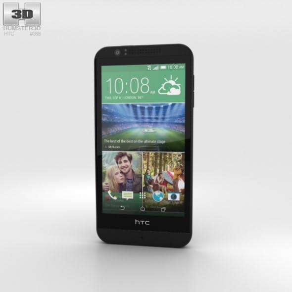 HTC Desire 510 Jet Black - 3DOcean Item for Sale