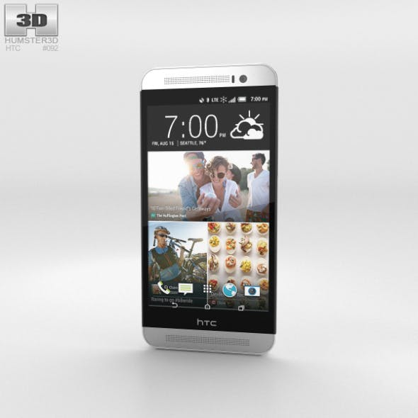 HTC One (E8) CDMA Polar White