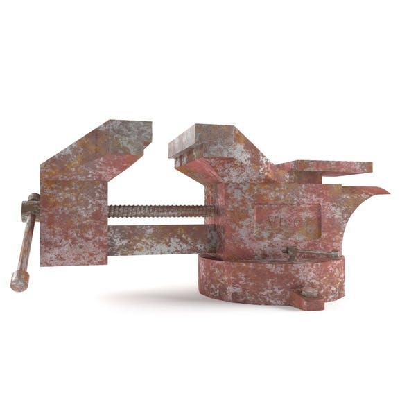 old vise - 3DOcean Item for Sale