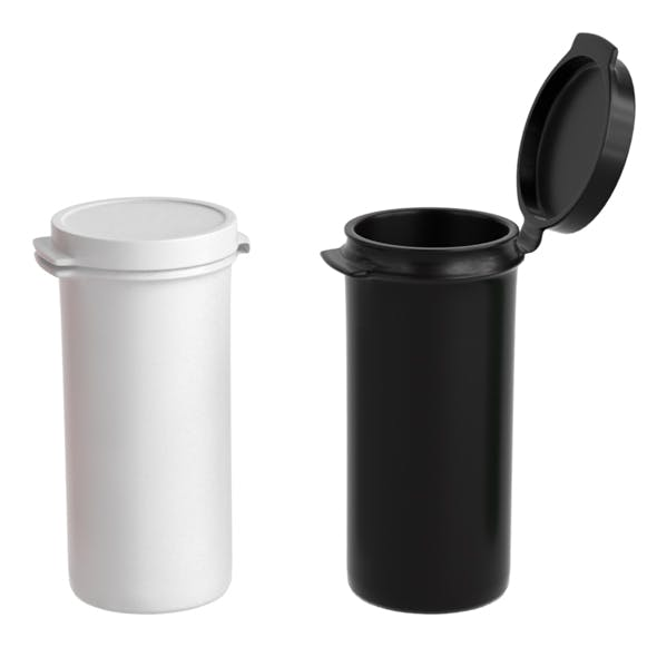 Plastic Hinged Lid Containers - 3DOcean Item for Sale