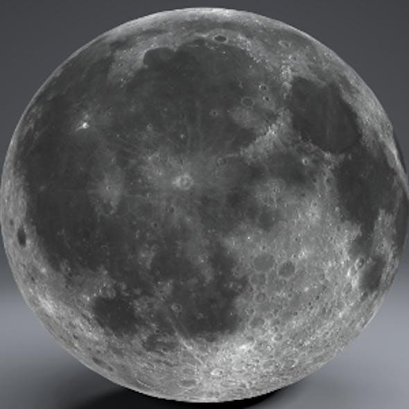 Moon Globe 23k