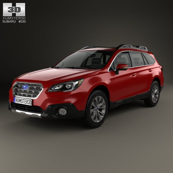 Subaru Outback 2015 - 3DOcean Item for Sale