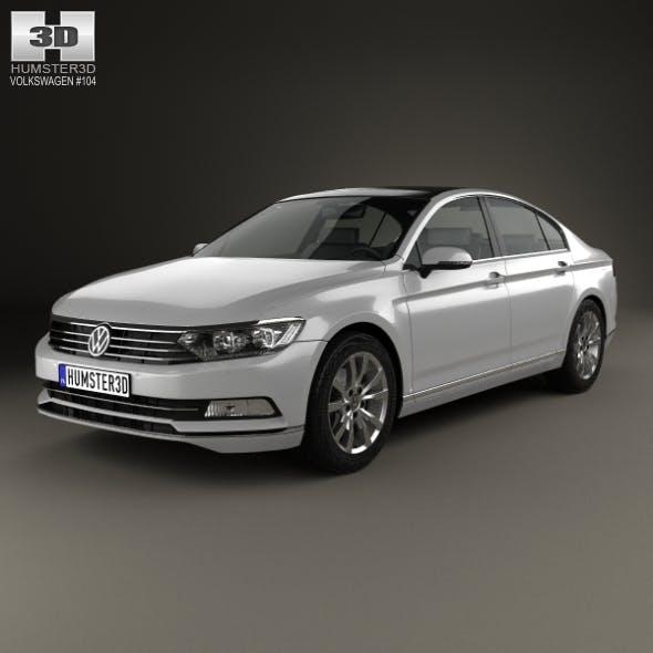 Volkswagen Passat (B8) sedan 2014 - 3DOcean Item for Sale