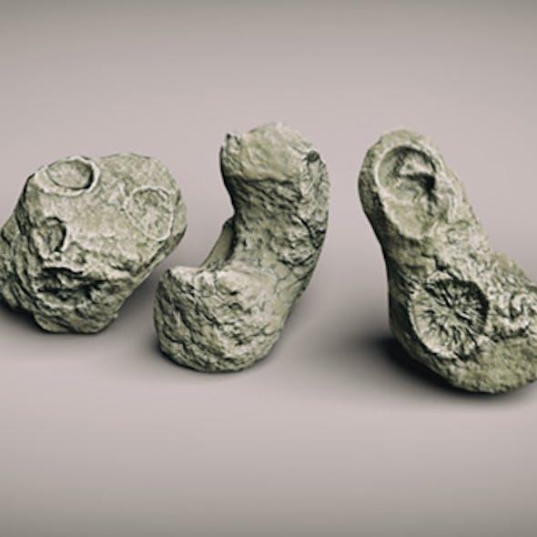 Next Gen Lowpoly Asteroids