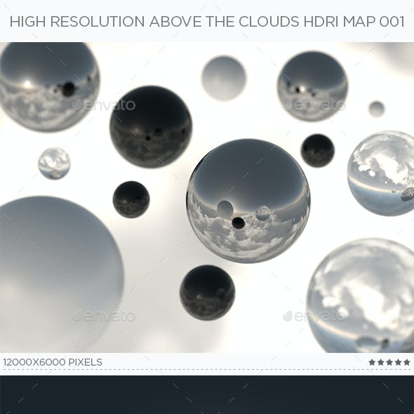 High Resolution Above The Clouds HDRi Map 001