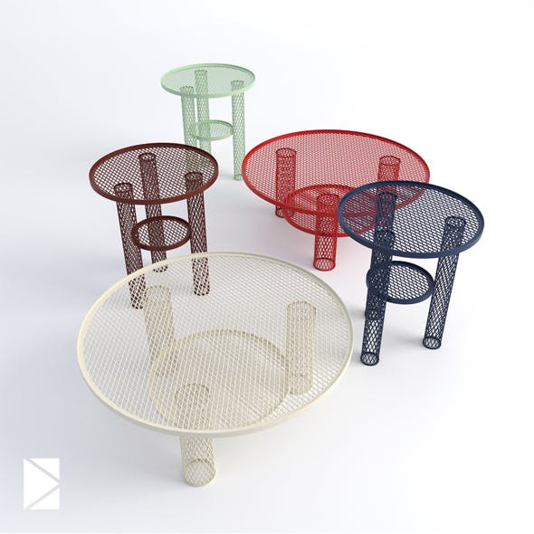 Moroso Net coffee tables