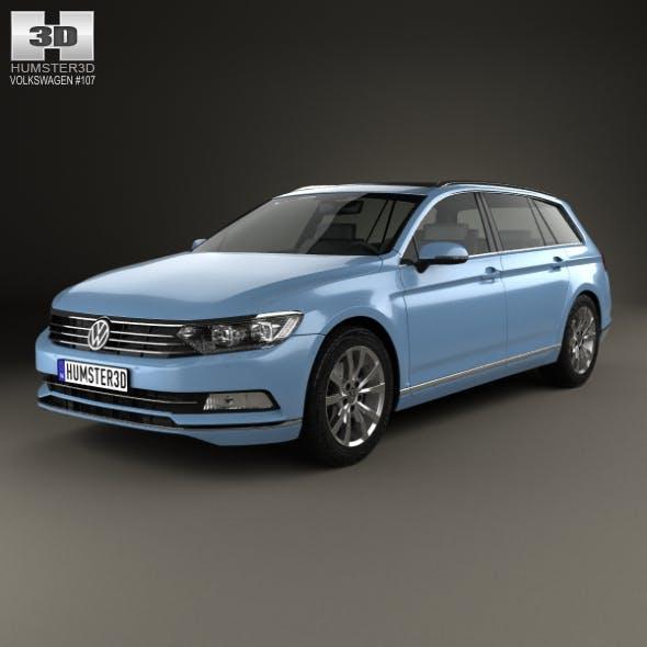 Volkswagen Passat (B8) variant 2014 - 3DOcean Item for Sale