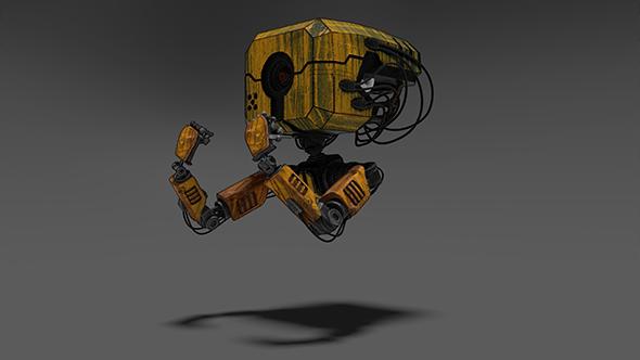 Rusty Robotic Mech by Epic3dArtist   3DOcean