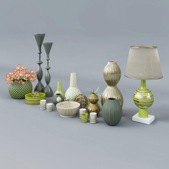 Decorative Set Collection - 3DOcean Item for Sale