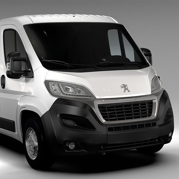 Peugeot Boxer Van L2H1 2017 - 3DOcean Item for Sale