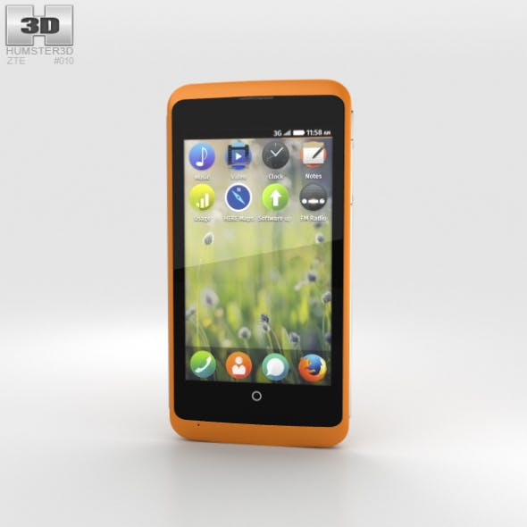 ZTE Open C Orange - 3DOcean Item for Sale