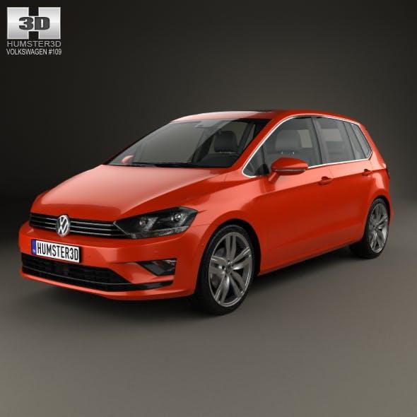 Volkswagen Golf Sportsvan 2014 - 3DOcean Item for Sale